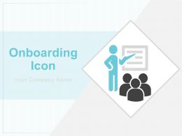 Onboarding Icon Organisation Structure Trainer Manager Client Customer