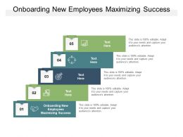 Onboarding New Employees Maximizing Success Ppt Powerpoint Ideas Cpb