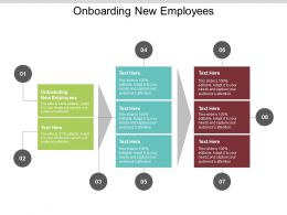 Onboarding New Employees Ppt Powerpoint Presentation File Master Slide Cpb