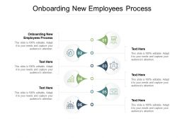 Onboarding New Employees Process Ppt Powerpoint Presentation Outline Cpb