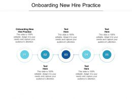 Onboarding New Hire Practice Ppt Powerpoint Presentation Infographic Template Outline Cpb