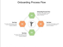 Onboarding Process Flow Ppt Powerpoint Presentation Layouts Background Images Cpb