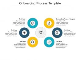Onboarding Process Template Ppt Powerpoint Presentation Summary Visuals Cpb