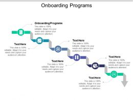 Onboarding Programs Ppt Powerpoint Presentation Gallery Example File Cpb