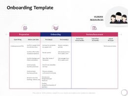Onboarding Template Hiring Ppt Powerpoint Presentation Icon Summary