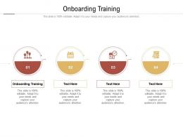 Onboarding Training Ppt Powerpoint Presentation Ideas Graphic Tips Cpb