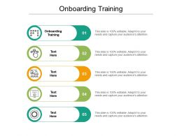 Onboarding Training Ppt Powerpoint Presentation Infographic Template Cpb
