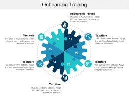 Onboarding Training Ppt Powerpoint Presentation Slides Format Ideas Cpb