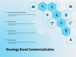 Oncology Brand Commercialization Ppt Powerpoint Presentation Summary Information