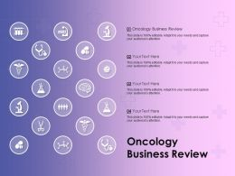 Oncology Business Review Ppt Powerpoint Presentation Portfolio Mockup