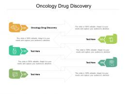 Oncology Drug Discovery Ppt Powerpoint Presentation Icon Inspiration Cpb