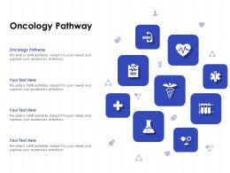 Oncology Pathway Ppt Powerpoint Presentation Show Objects