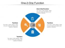 One 2 One Function Ppt Powerpoint Presentation Model Files Cpb