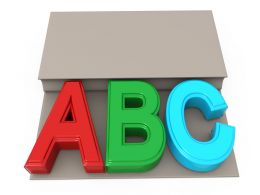 one_book_with_a_b_c_letters_stock_photo_Slide01