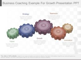 One Business Coaching Example For Growth Presentation Ppt