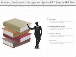 One Business Development Management System Ppt Sample Ppt Files