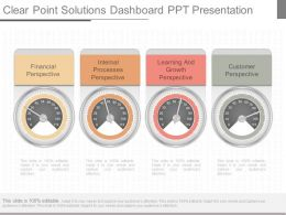 One Clear Point Solutions Dashboard Ppt Presentation