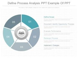 One Define Process Analysis Ppt Example Of Ppt