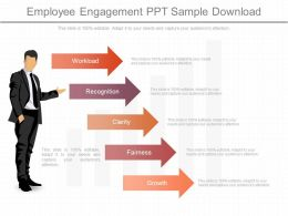 One Employee Engagement Ppt Sample Download
