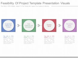 One Feasibility Of Project Template Presentation Visuals