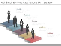 One High Level Business Requirements Ppt Example