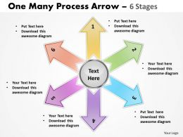 One Many Process Arrow 6 Stages 23