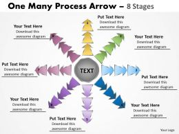 One Many Process Arrow 8 Stages 18
