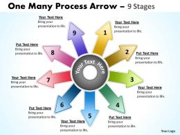 One Many Process Arrow 9 Stages 13