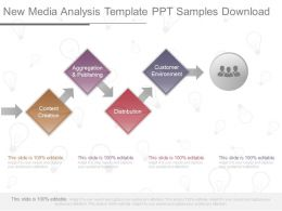 One New Media Analysis Template Ppt Samples Download