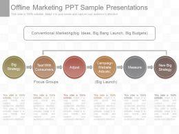 One Offline Marketing Ppt Sample Presentations