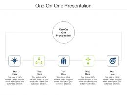 One On One Presentation Ppt Powerpoint Presentation Professional Good Cpb