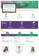 One Page Bootstrap Website Theme Template Presentation Report Infographic PPT PDF Document