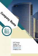 One Page Company Name Contact Us Page Agency Recruitment Report Infographic PPT PDF Document