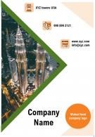 One Page Company Name Contact Us Page Mutual Fund Report Infographic PPT PDF Document