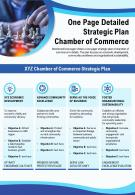 One Page Detailed Strategic Plan Chamber Of Commerce Presentation Report Infographic PPT PDF Document
