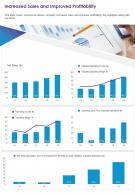 One Page Increased Sales And Improved Profitability Template 186 Report Infographic PPT PDF Document