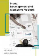 One Pager Brand Development And Marketing Proposal Template