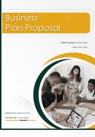 One Pager Business Plan Proposal Template