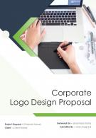 One Pager Corporate Logo Design Proposal Template