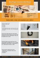 One Pager Invention Sell Sheet Presentation Report Infographic PPT PDF Document