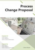One Pager Process Change Proposal Template