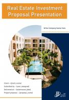 One Pager Real Estate Investment Proposal Presentation Template