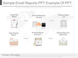 One Sample Email Reports Ppt Example Of Ppt