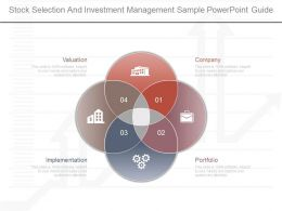 One Stock Selection And Investment Management Sample Powerpoint Guide