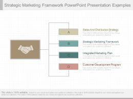 One Strategic Marketing Framework Powerpoint Presentation Examples