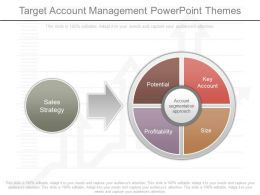 One Target Account Management Powerpoint Themes