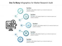 One To Many For Market Research Audit Infographic Template