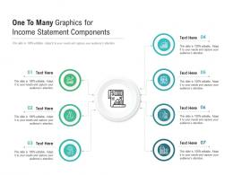 One To Many Graphics For Income Statement Components Infographic Template