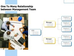 One To Many Relationship Between Management Team