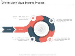 One To Many Visual Insights Process Infographic Template